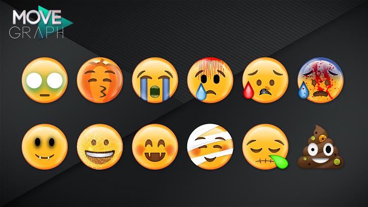 emojis, emoticons, halloween