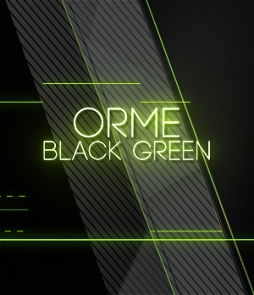Modern Transition Wipe on green color