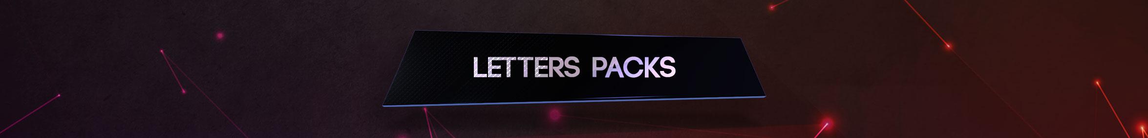 Letters Packs
