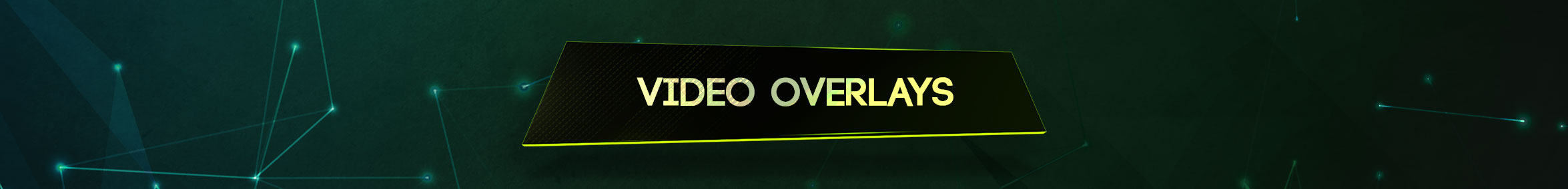 animated video overlay